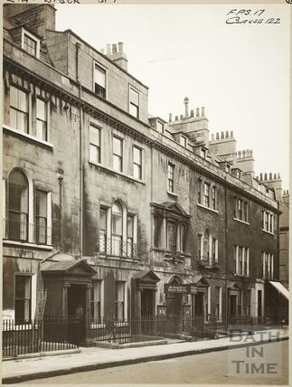 North side of Brock Street, Bath c.1920