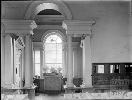 Washroom inside St Peter's College, Prior Park, Bath c.1903