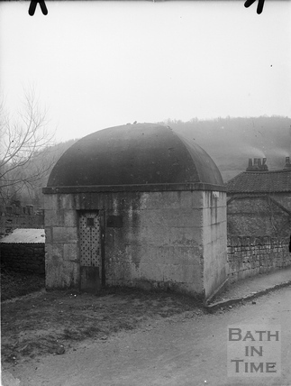 Lock up (blind house), Monkton Combe c.1904