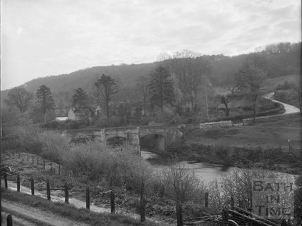 Stokeford Bridge, Limpley Stoke c.1903