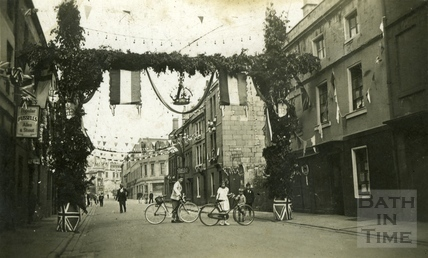 Jubilee celebrations, Avon Street, Bath 1935