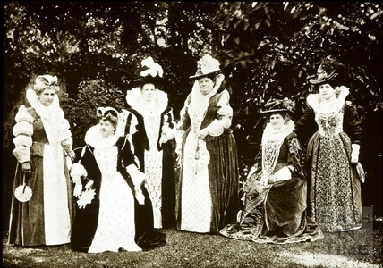 Bath Historical Pageant. Episode 5. Elizabethan Ladies July 1909