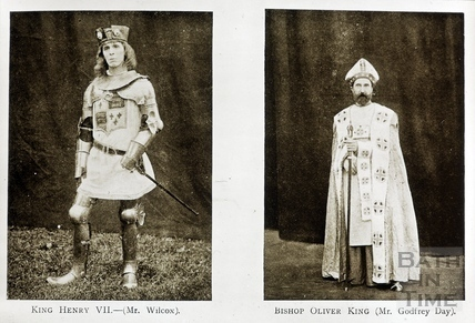Bath Historical Pageant. Episode 4. King Henry and Oliver King July 1909