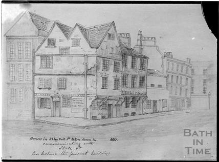 Abbeygate Street, Bath 1851
