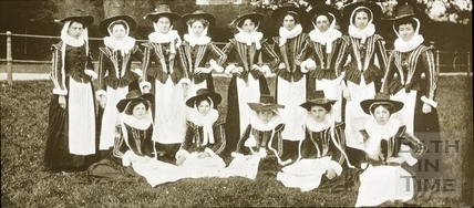Bath Historical Pageant. Episode 5. Devonshire Maids July 1909