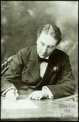 Bath Historical Pageant. Mr. Frank Lascelles July 1909