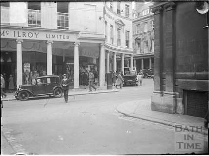 York Street and Stall Street, Bath Street, Bath c.1930