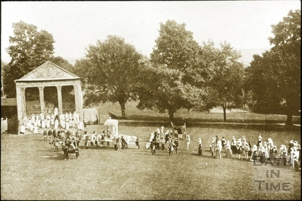 Bath Historical Pageant. Episode 4. King Henry visits Bath July 1909