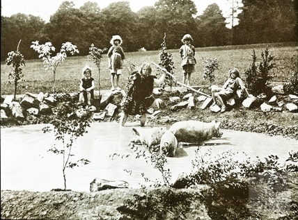 Bath Historical Pageant. Episode 5. Bladud and His Pigs July 1909