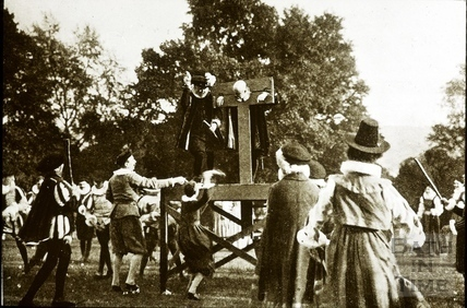 Bath Historical Pageant. Episode 5. The Stocks July 1909
