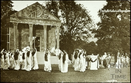 Bath Historical Pageant. Episode 1. Priestesses Chanting July 1909