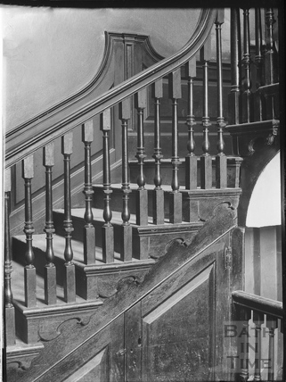 Staircase detail, Nassau House, 13, Orange Grove c.1890