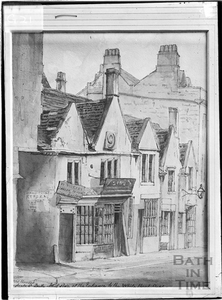 Old Houses, Westgate Street, Bath