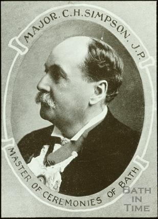 Bath Historical Pageant. Major C.H. Simpson J.P. July 1909