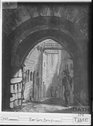 The East Gate, Bath 1855