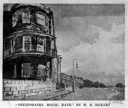 Sheepshanks House, Camden Crescent, Bath