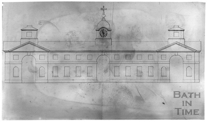John Wood's drawings of Prior Park, Bath