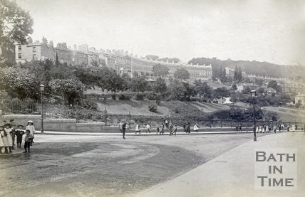 Hedgemead Park, Bath 1895