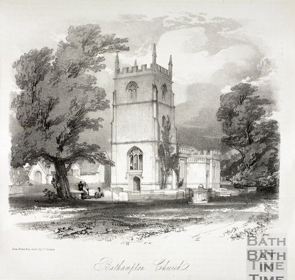 Bathampton Church c.1840