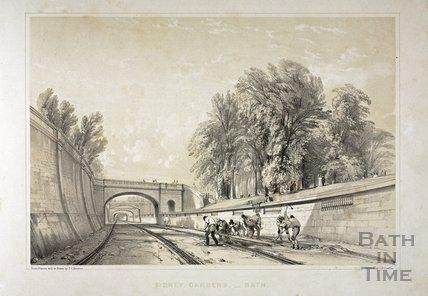 Navvies, Sydney Gardens, Bath c.1840