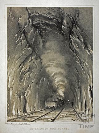 Interior of the Box Tunnel c.1840