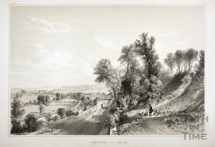 Twerton near Bath c.1840