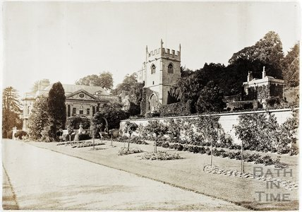 Widcombe Manor and Church, Bath c.1890