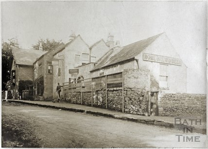 Hare and Hounds Public House, Lansdown, Bath c.1890