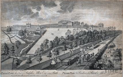 Prior Park, Bath the Seat of Ralph Allen Esq. 1750