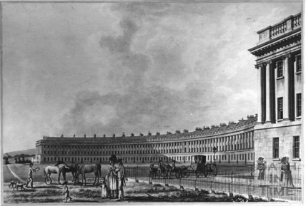 The Royal Crescent, Bath 1788