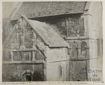 St. Laurence Saxon Church, Bradford on Avon c.1890
