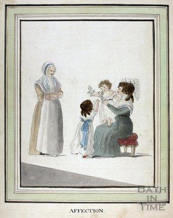 Affection. Georgiana Keate 1785
