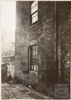 Window of the Swarry Room, The Beaufort Arms, Princes Street, Bath c.1885