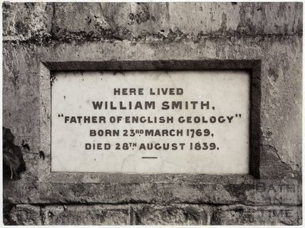 Tablet to William Smith on Tucking Mill Cottage, Tucking Mill c.1885