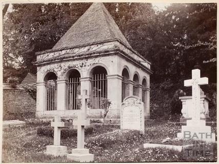 The Tomb of Ralph Allen, Claverton c.1895