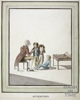 Attention. Watercolour 1785