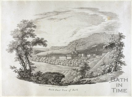 South East View of Bath c.1788