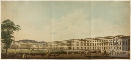 Plan for the Extension of Queen Square, Bath never carried out c.1800