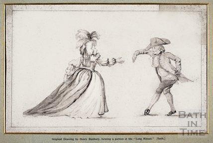 The Long Minuet 1787