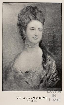 Mrs. (Capt) Matthews of Bath