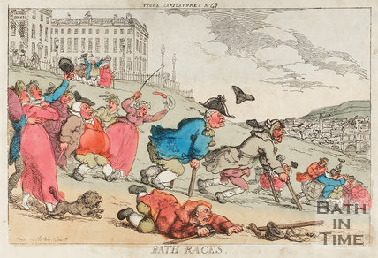 Bath Races November 1810