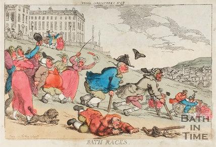 Bath Races November 1810