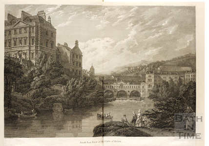 South East View of the City of Bath 1792
