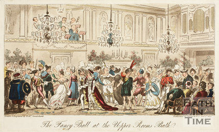 The Fancy Ball at the Upper Rooms, Bath 1825