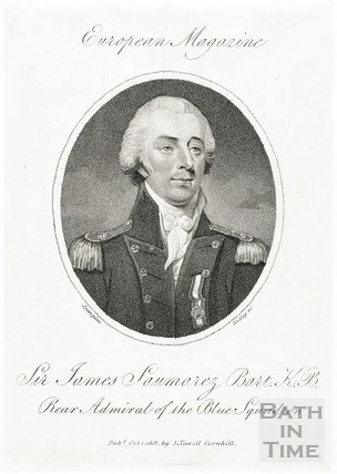Sir James Saumarez Bart. K.B. Rear Admiral of the Blue Squadron 1801