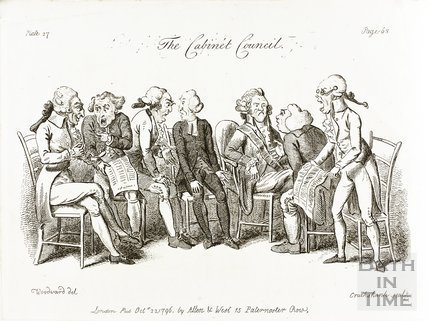 The Cabinet Council 1796
