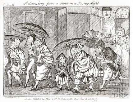 Returning from a Rout on a Rainy Night 1797