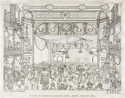 A Peep at the Fancy, New Theatre Royal Bath. 23 April 1824