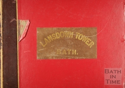 Title and cover of Views of Lansdown Tower 1844