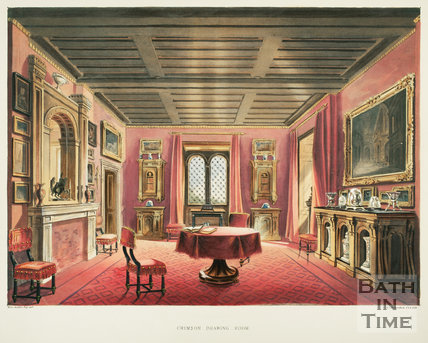 The Crimson Dining Room 1844